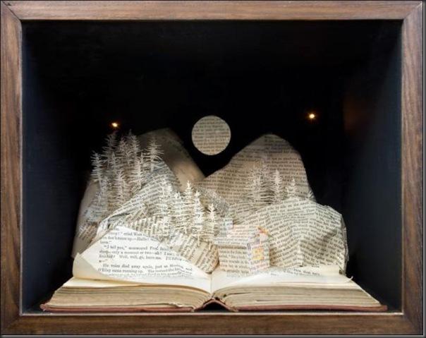 Esculturas com livros (11)