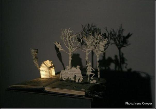 Esculturas com livros (4)