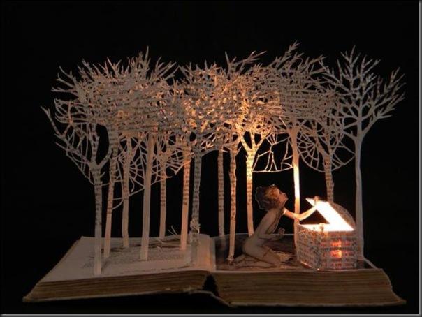 Esculturas com livros (1)