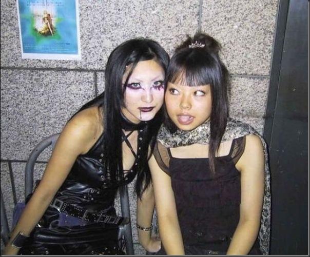 Garotas góticas no Japão (14)
