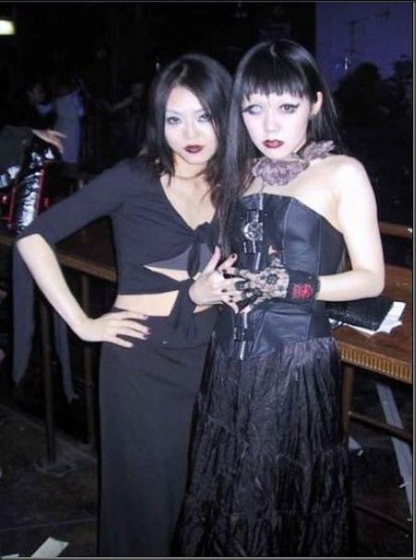 Garotas góticas no Japão (1)