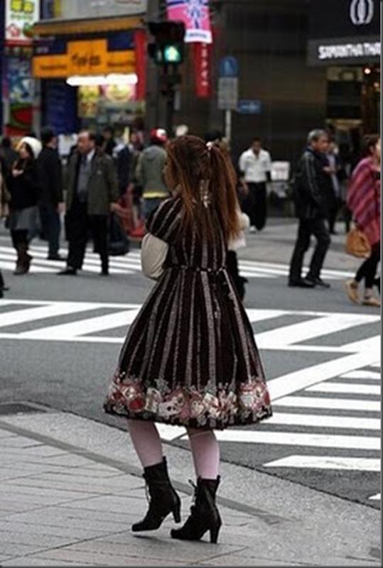 A moda na rua das garotas japonesa (4)