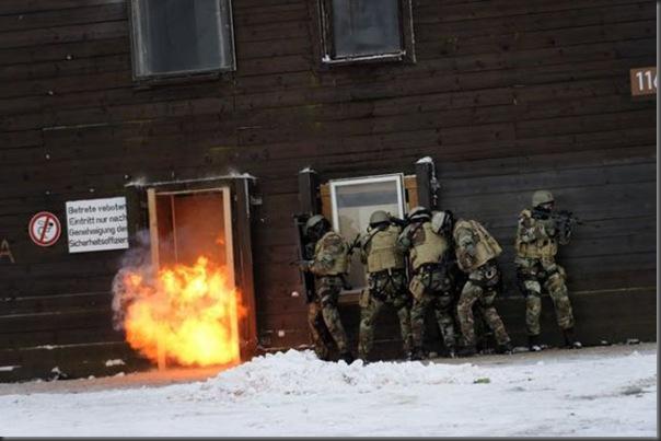 Fotos de forças especiais de diferentes países em ação (3)