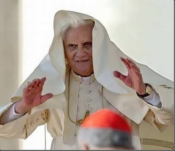 As várias faces de Papa Bento XVI (6)