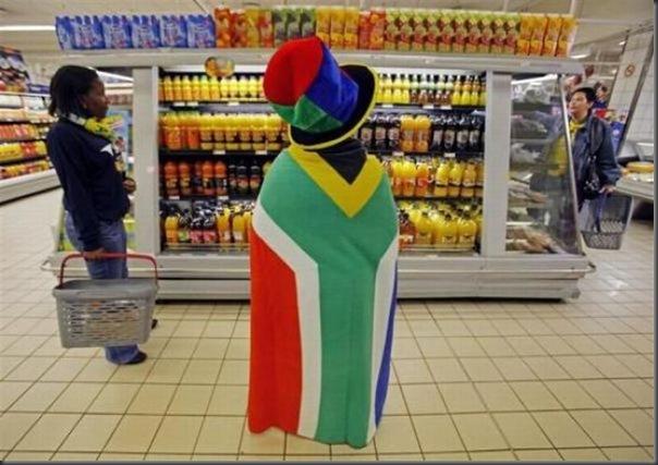 Fantasias loucas e engraçadas na copa do mundo da África do Sul (20)