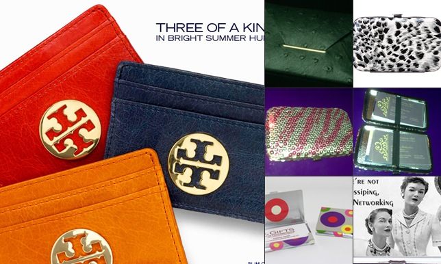 View Business card and ID holders