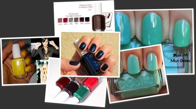View Essie nail polish
