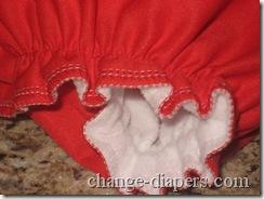 amp diaper leg opening