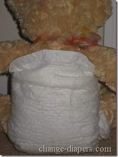 size 1 disposable diaper back