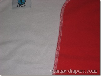 cloth diaper changing pad