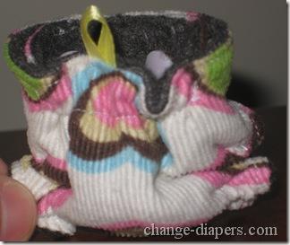 back of mini diaper