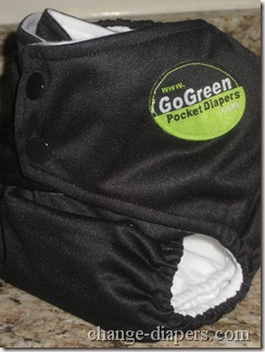 gogreen champ diaper extra small setting