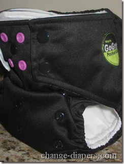 gogreen champ cloth diaper medium setting