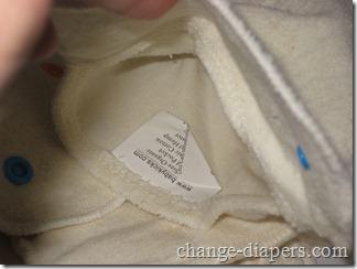 pocket for insert