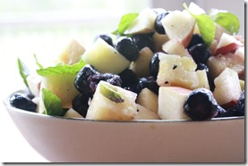 Mint fruit salad