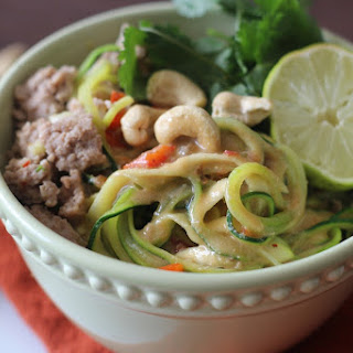 "Asian ""Peanut"" Sauce Noodle Bowl"
