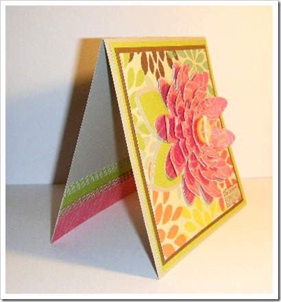 PEACHY MOMS DAY FLOWER CARD 5