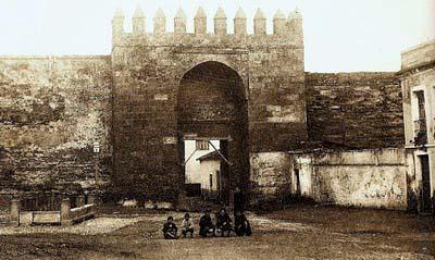 Una vista antigua con la alcubilla a la izquierda