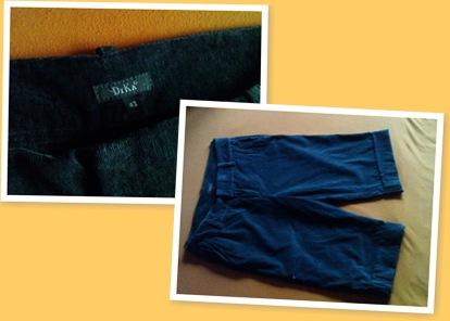 View Pantaloni de catifea Dika