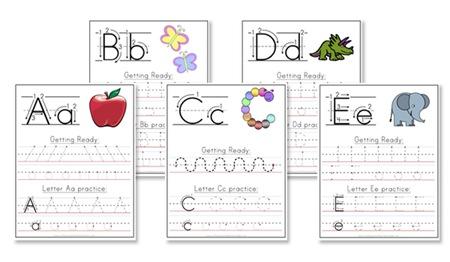 Manuscript Handwriting Worksheets | Mreichert Kids Worksheets