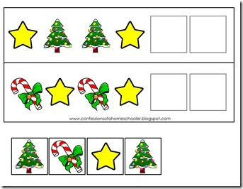 Worksheets Preschool Christmas Worksheets preschool christmas activities confessions of a homeschooler christmaspattern