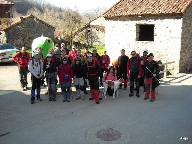 Grupo en Soto de Sajambre