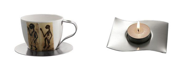 Cup and Candle Holder