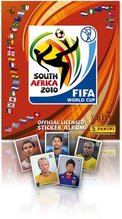 album panini sudafrica 2010