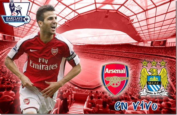 arsenal vs manchester city en vivo-premier league 09-10