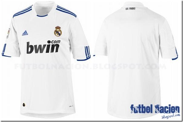 Camiseta local Adidas Real Madrid 2010-2011