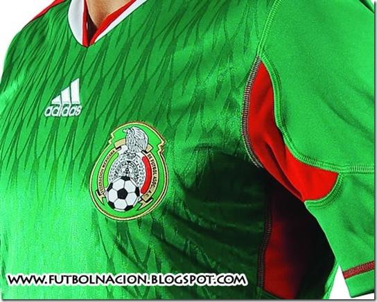 nueva playera adidas mexico 2010