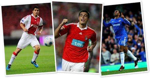 Ver goleadores europeos DIC-09