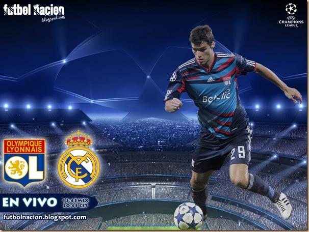 lyon vs madrid champions 2011 en vivo
