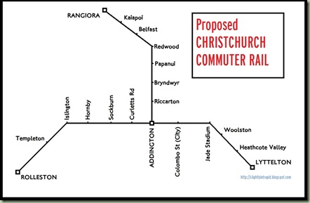 Christchurch commuter rail