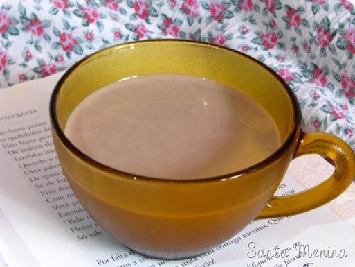 Chocolate quente - receita