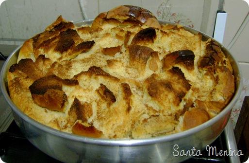 Bolo de Pão Francês