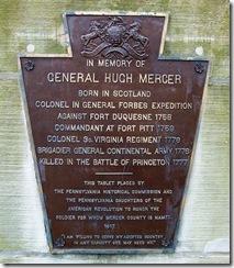 GeneralHughMercerPA