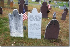 Grave of John Schell (Click to Enlarge)