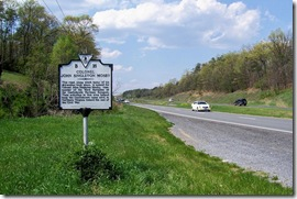 Mosby Marker B-16 on Route 50  John Mosby Highway
