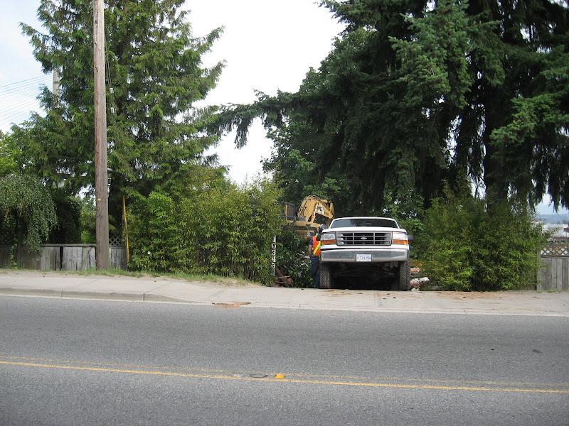 10345 River Road Annieville Delta BC After Demolition