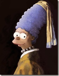 A personagem Marge, da série de animação Os Simpsons2