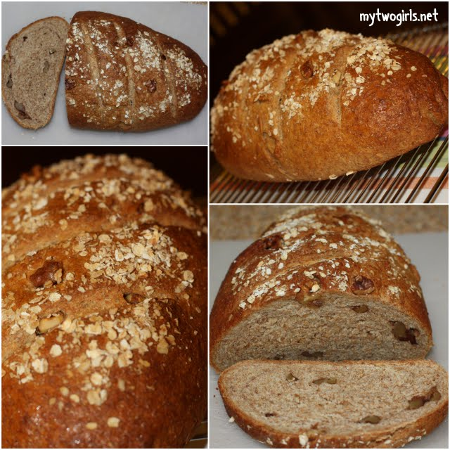 Wholemeal walnut loaf
