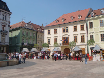 Centro Velho de Bratislava