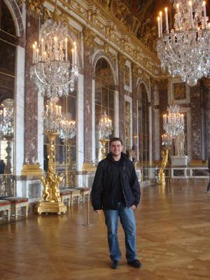 Palácio de Versalhes - Salão dos Espelhos