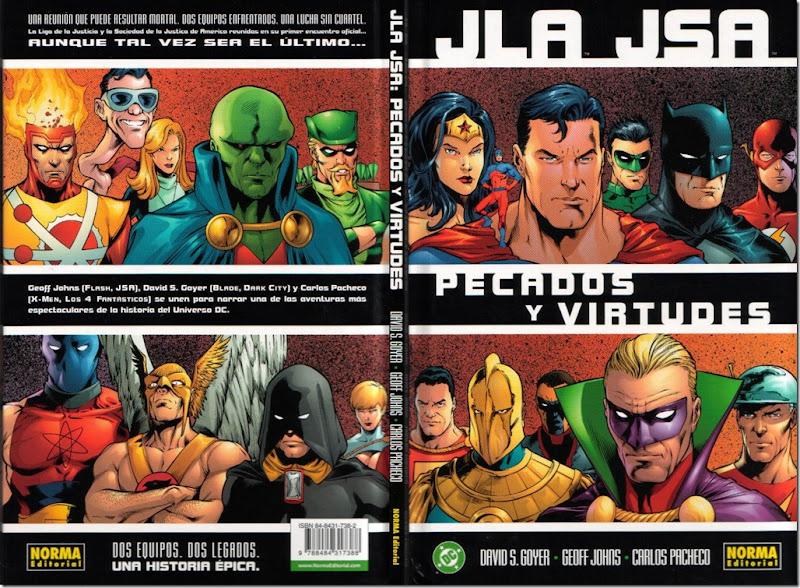 JLA & JSA - Pecados y Virtudes