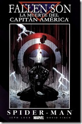 P00049 -  La Iniciativa - 047 - Fallen Son - Death of Captain America - Spider Man