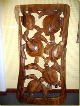 Turtle carvings