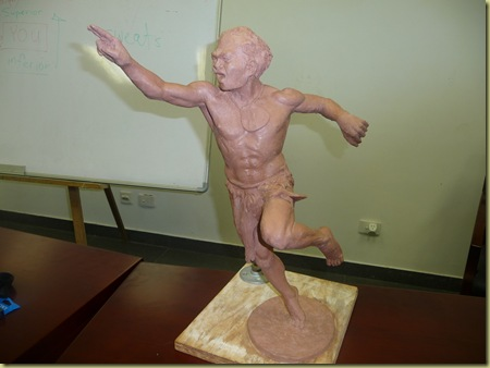 Sculpture  Javelin thrower