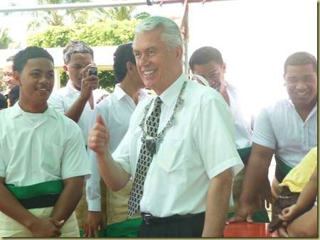 Pres. Uchtdorf at Liahona