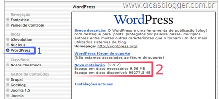 instalar-wordpress-fantastico